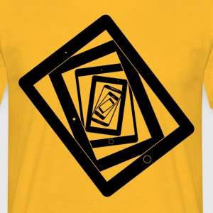 Lost in Resolution Yellow - Männer T-Shirt