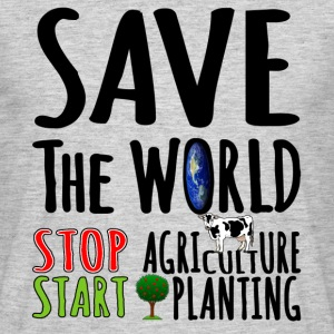 Save The WORLD - Men's T-Shirt