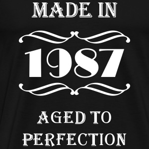 Made in 1987 T-shirts - Herre premium T-shirt