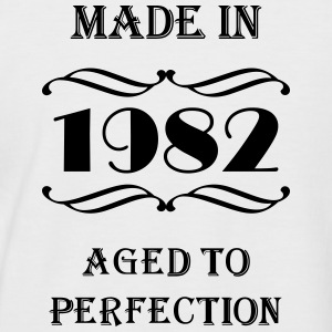 Made in 1982 Tee shirts - T-shirt baseball manches courtes Homme