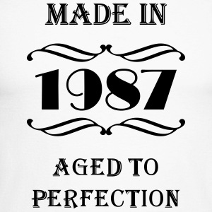 Made in 1987 Long sleeve shirts - Men's Long Sleeve Baseball T-Shirt