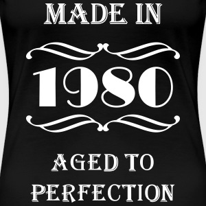 Made in 1980 T-shirts - Premium-T-shirt dam