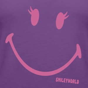 SmileyWorld Glitter Girl - Premium singlet for kvinner