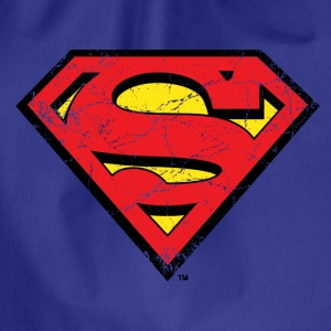 Superman S-Shield Logo vintage - Sportstaske