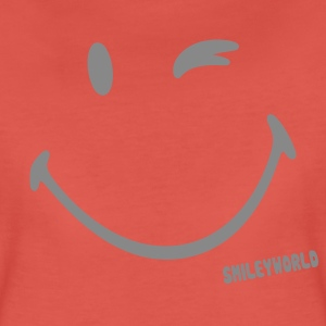 SmileyWorld Glitter Wink - Women's Premium T-Shirt