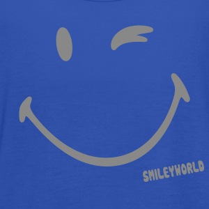 SmileyWorld Glitter Wink - Singlet for kvinner fra Bella