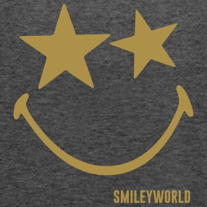 SmileyWorld Glitter Stars - Singlet for kvinner fra Bella