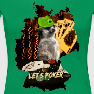 Let´s Poker  T-Shirts - Frauen Premium T-Shirt