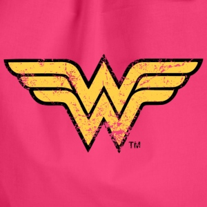 Justice League Wonder Woman Logo vintage - Gymnastikpåse
