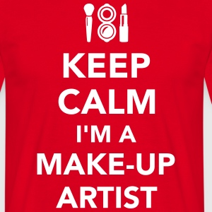 Make-up Artist T-Shirts - Männer T-Shirt