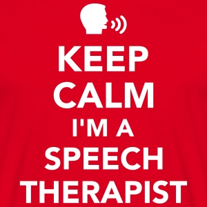 Speech therapist T-Shirts - Männer T-Shirt