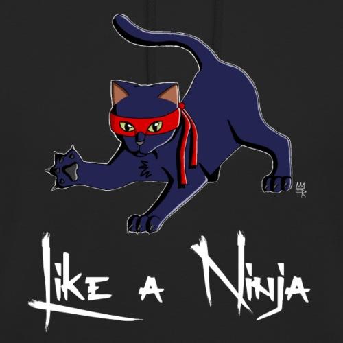 Like A Ninja white