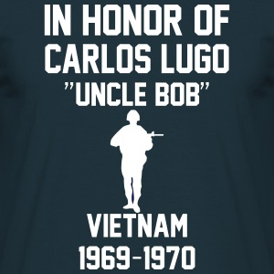 In Honor Of Carlos Lugo Vietnam T-Shirts - Men's T-Shirt