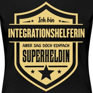 Integrationshelferin T-Shirts - Frauen Premium T-Shirt