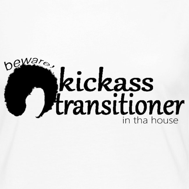 Premium Long Sleeve T-shirt Beware! Kickass transitioner in tha house