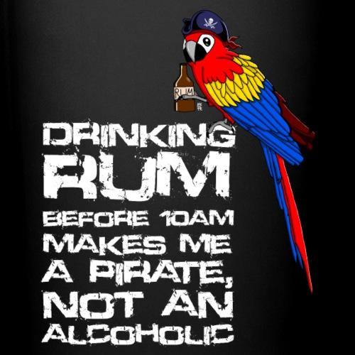 Drinking Rum white