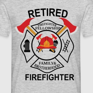 Firefighter Fellowship Retired T-Shirts - Men's T-Shirt
