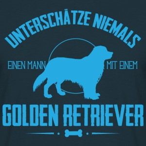 UNM Golden Retriever T-Shirts - Männer T-Shirt