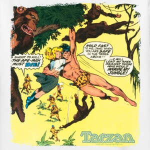 Tarzan et Jane comic - T-shirt Ado