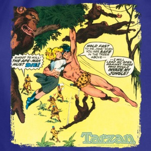 Tarzan with Jane Comic Cover - Gymbag