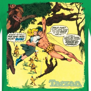Tarzan with Jane Comic Cover - Mannen T-shirt