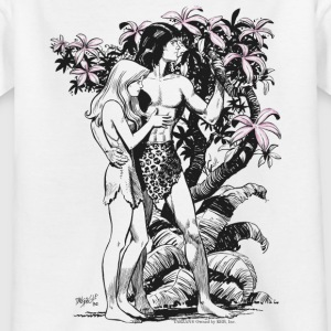 Tarzan and Jane - Teenager T-shirt