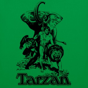 Tarzan with elephant, lion and apes - Mulepose