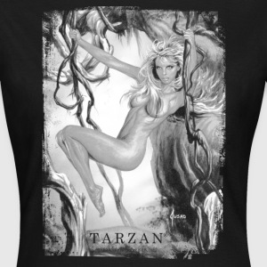 Tarzan 'Jane in the jungle' - T-shirt dam