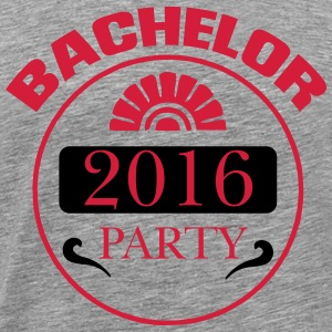 BACHELOR PARTY 2016 T-shirts - Herre premium T-shirt