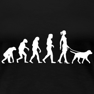 Evolution - Labrador T-Shirts - Frauen Premium T-Shirt