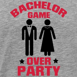 GAME OVER! (BACHELOR JGA PARTY) T-Shirts - Men's Premium T-Shirt