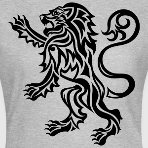 Tribal Tattoo Style Lion Rampant - Women's T-Shirt