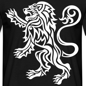 Scottish Tribal Lion Rampant - Men's T-Shirt