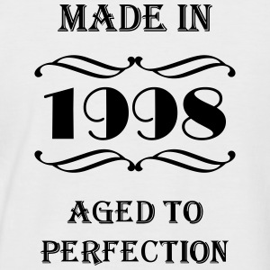 Made in 1998 Tee shirts - T-shirt baseball manches courtes Homme