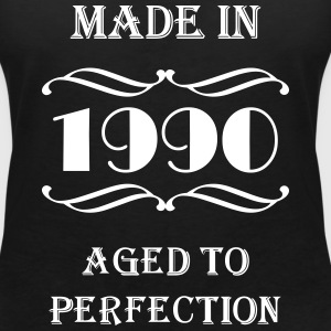 Made in 1990 T-shirts - Vrouwen T-shirt met V-hals
