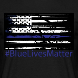 Blue Lives Matter T-Shirts - Men's T-Shirt