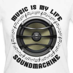 SOUNDMACHINE - 716 - 1S T-Shirts - Frauen Bio-T-Shirt