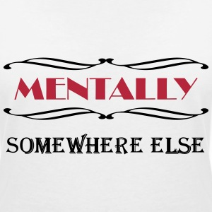 Mentally somewhere else Magliette - Maglietta da donna scollo a V