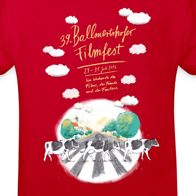 Kinder Bio-T-Shirt 2016 rot