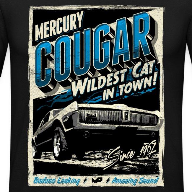 Cougar / Blau / Slim Fit T-Shirt