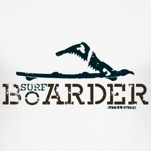 surf boarder x fr Tee shirts - Tee shirt près du corps Homme