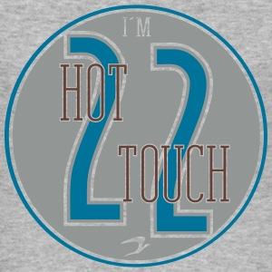 2hot2touch_vec_3 nl T-shirts - slim fit T-shirt