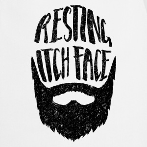 Resting Itch Face Funny Beard  Aprons - Cooking Apron