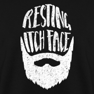 Design ~ Resting Itch Face - Funny Beard