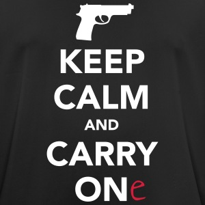Keep Calm And Carry One (Gun) T-Shirts - Men's Breathable T-Shirt