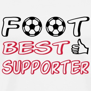 Foot best supporter T-Shirts - Männer Premium T-Shirt