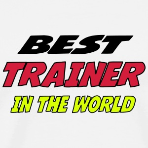 Best trainer in the world T-shirts - Premium-T-shirt herr