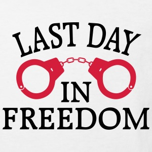 THE LAST DAY OF FREEDOM! Shirts - Kids' Organic T-shirt