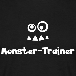 Monster-Trainer - Männer T-Shirt