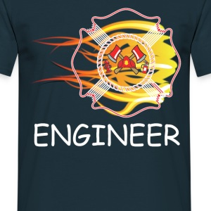 FIRE DEPARTMENT ENGINEER T-Shirts - Men's T-Shirt